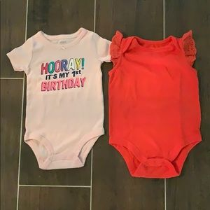 Other - Carter's and Baby Gap Bodysuits